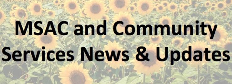 MSAC and CS News and Updates Opens in new window